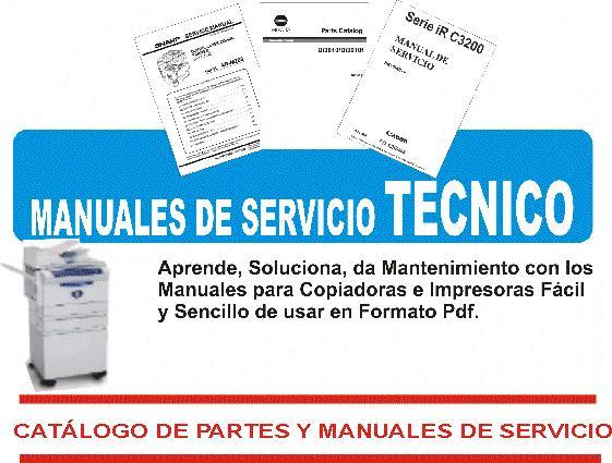 Manuales De Servicio Canon Manuales De Servicio Tecnico